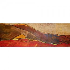 Désert Matière : papier, encre, acrylique Dim. : 50 x 120 cm Année : avril 2014