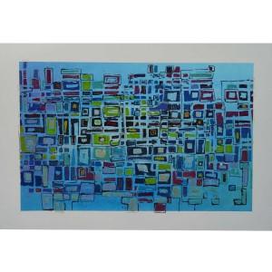 Labyrinthe Dim. : 90 x 130 cm