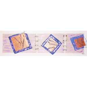 Carnet de bord Dim. : 30 x 90 cm