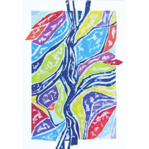 Floraison Dim. : 50 x 70 cm