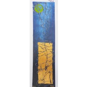 Le fil d'ariane Dim. : 40 x 120 cm