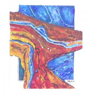 Anubis Dim. : 40 x 50 cm