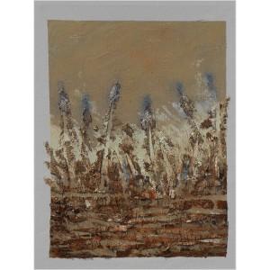 Champ de blé  Dim. : 45 x 55 cm