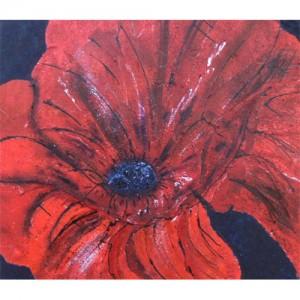 Fleur Dim. : 110 x 100 cm