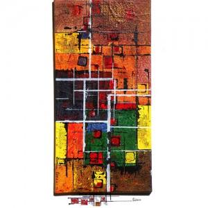 Géométrie Matière : papier, encre, acrylique Dim. : 50 x 70 cm Année : 2013